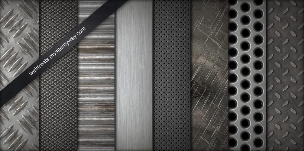 8-tileable-metal-textures